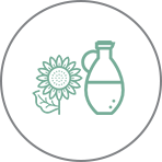 Sunflower Oil - for oil based actives